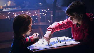 Aubrey Plaza, screenwriter Tyler Burton Smith, and director Lars Klevberg on Child's Play